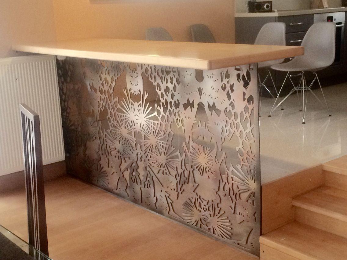 Metal Laser Cut Bar Table Tables Metal Furniture