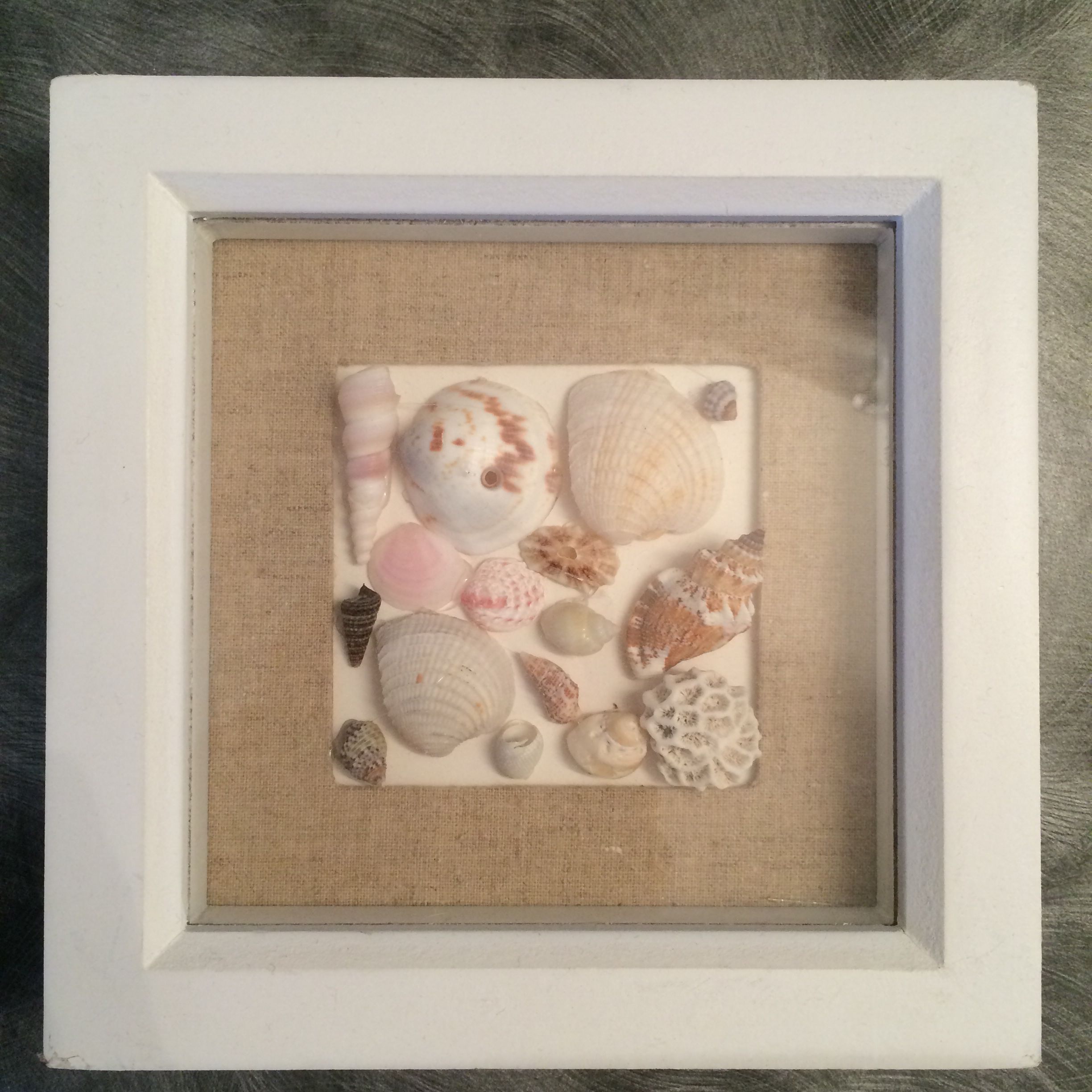 My daughter glue gunned vacation shells into a small shadow box my daughter glue gunned vacation shells into a small shadow box frame from target solutioingenieria Image collections