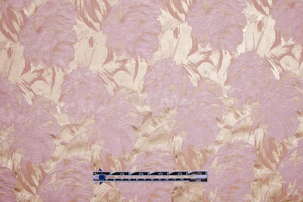 Mood Fabrics : New York Fashion Designer Discount Fabric | 300696 Bisque Floral Carolina Herrera Silk Blend