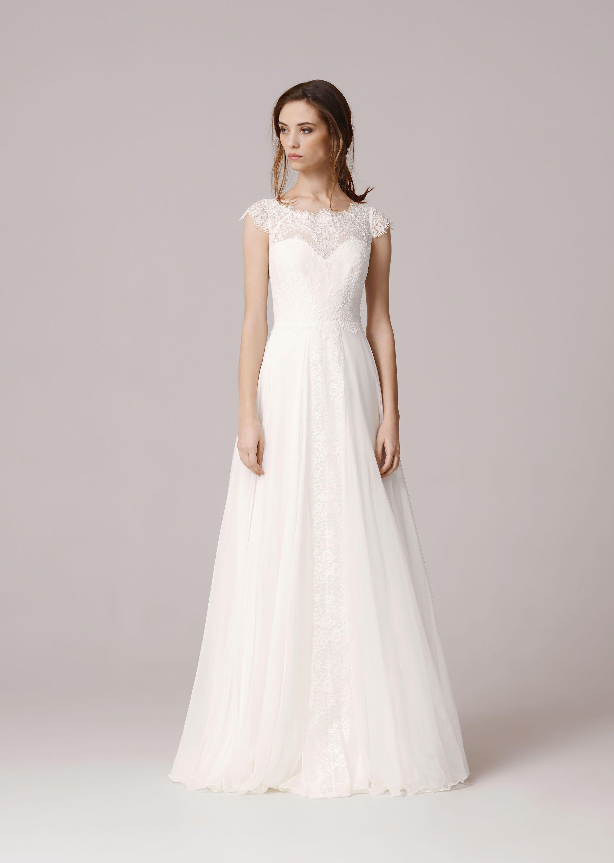 Anna Kara – THEA WHITE front Hochzeitskleid Pinterest