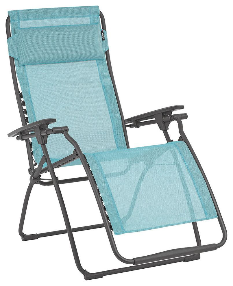 Strange Contemporary Reclining Outdoor Lounge Chair Light Blue Spiritservingveterans Wood Chair Design Ideas Spiritservingveteransorg