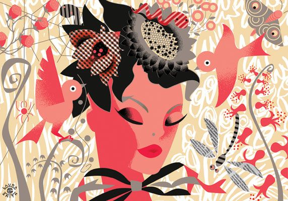 Flower Woman by Laura Smith