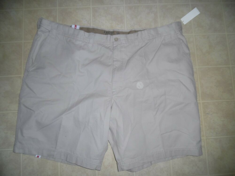 172df49cdc eBay Sponsored) 4XL/50W Mens Shorts-Izod-Stone-Saltwater/Salt Water ...