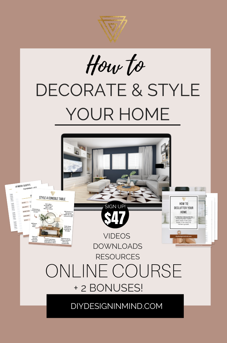 Diy Decorating Course In 2020 Interior Design Blog Diy Home