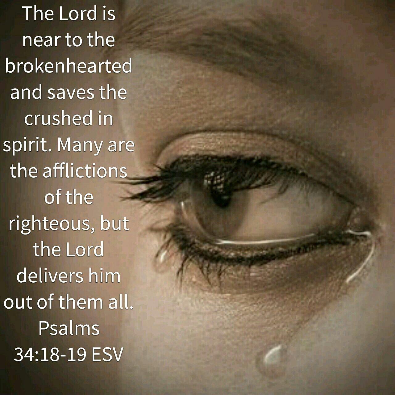 Image result for Psalm 34:18-19 kjv