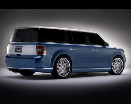 Ford Flex By Chip Foose Ford Flex Foose Hot Rods Cars Muscle