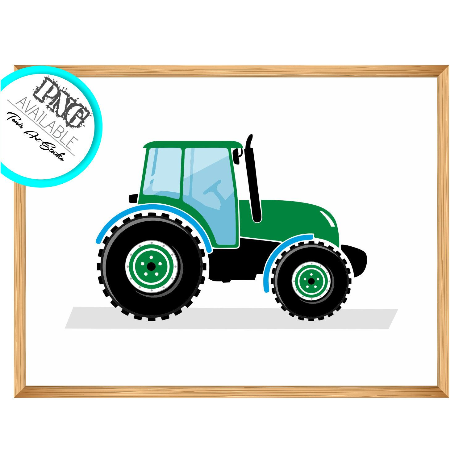 Green Tractor Print Tractor Prints Jpg Png Clipart Tractor