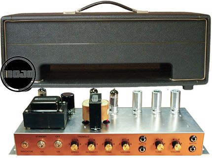 Mojotone British 18 Watt Style Head Amplifier Kit | Marshall
