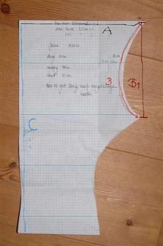 Schnittmuster erstellen für Splitpants Bild | Nähideen | Pinterest ...