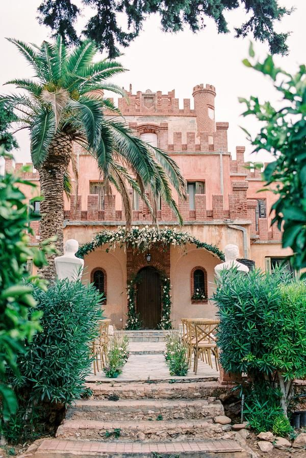 A Historic Castle Sets The Scene For This Elegant Styled ...