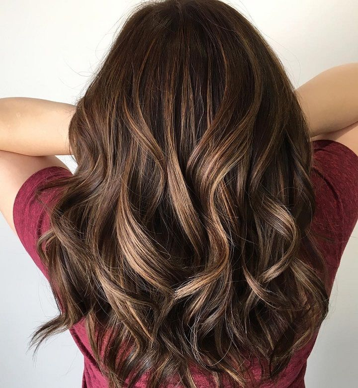 These Beautiful Toffee Brown Hair Color With Highlights ...