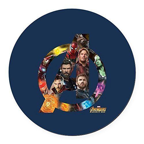 Cafepress avengers infinity war logo round car magnet magnetic bumper sticker cafepress