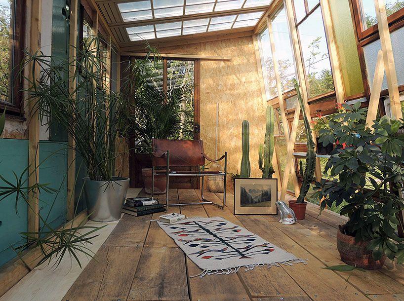 Bureau as self built recycled garden pavilion la fabrique