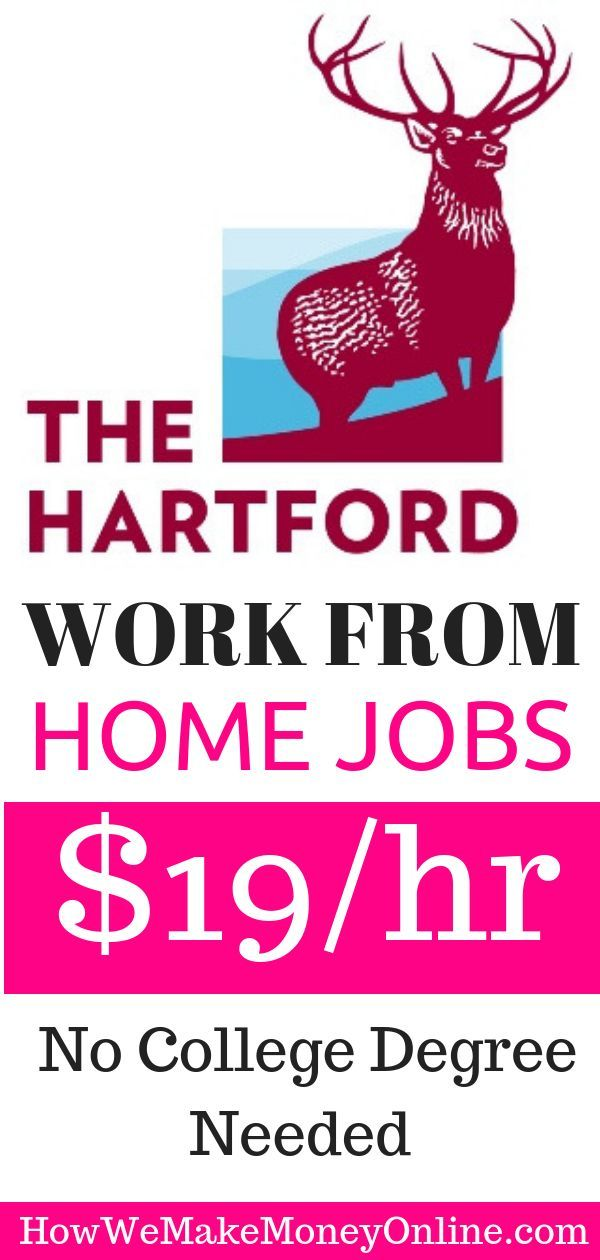 Work From Home Jobs The Hartford Is Hiring In 50 States Looking