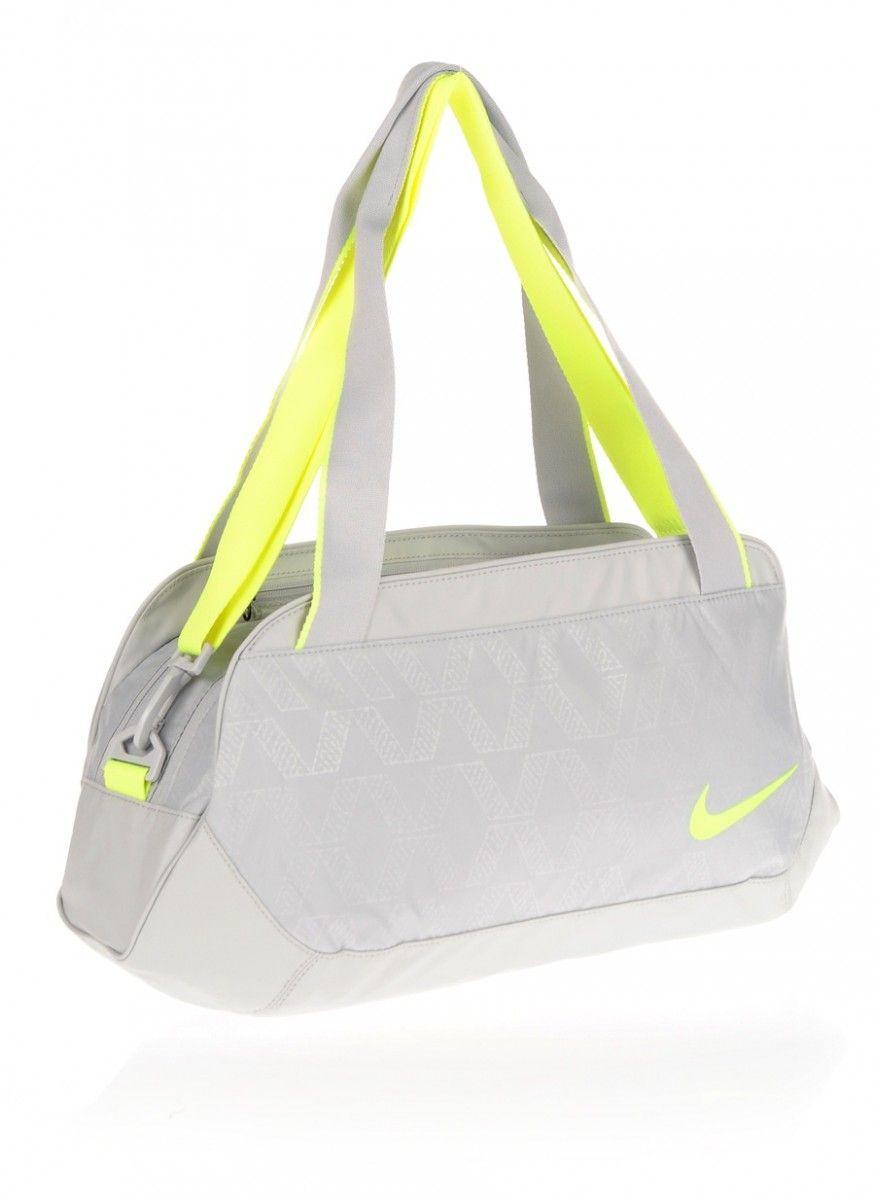 a7e5159ed8dd2 Bolsa Nike C72 Legend 2.0 S | Treino e Corrida - Cinza e Verde | FIT ...