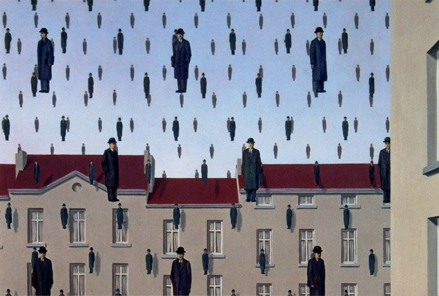 How To Create Unity This Painting Shows How Unity In Art Is Created Explore The Rhythm Of The Work Unity In Art Magritte Rene Magritte