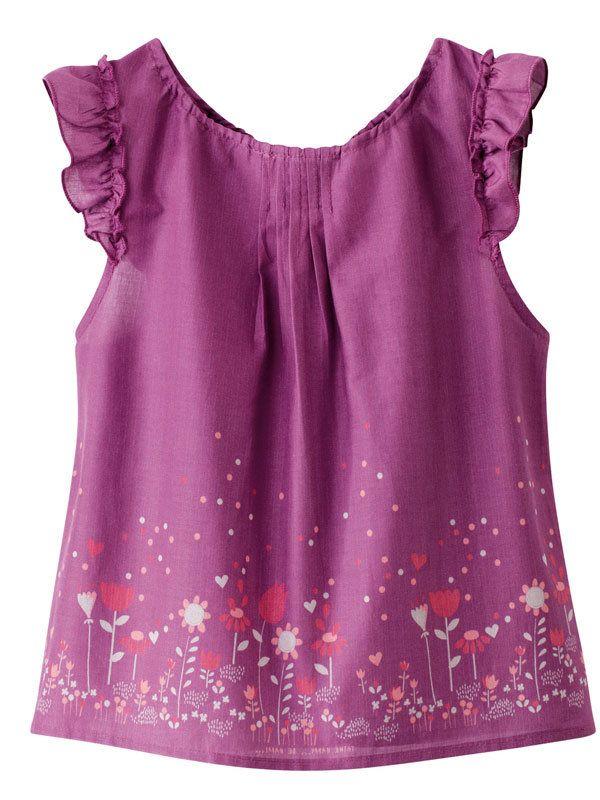 patrones blusas niñas - Buscar con Google | Costura. Sewing ...