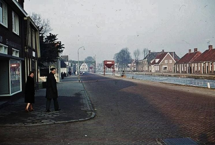 Hoogeveen: De Alteveerstraat omstreeks 1962