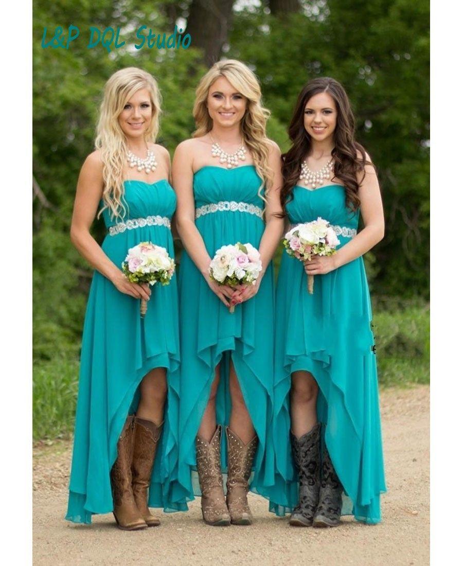 Aliexpress buy aqua blue bridesmaid dresses long chiffon aqua aliexpress buy aqua blue bridesmaid dresses ombrellifo Choice Image