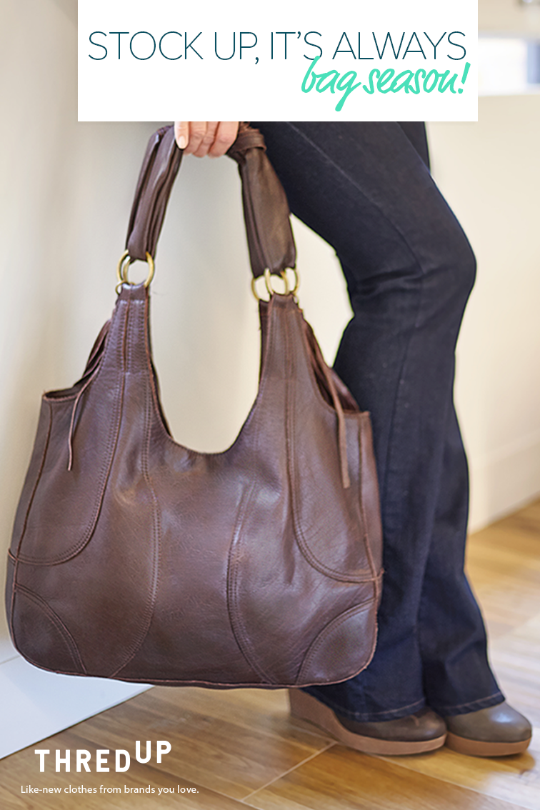 5971d5c3765e Find designer handbags affordable enough you may grab two! thredUP is an  online consignment shop