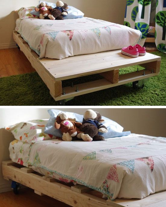 Diy Pallet Bed Click Pic For 22 Small Bedroom Decorating Ideas On A Budget The Home