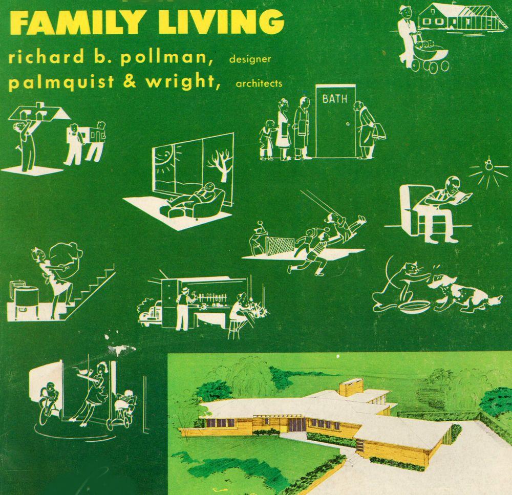 Home Design Ideas Buch: 1956 RICHARD B. POLLMAN MODERNIST HOME DESIGNS Atomic Jet