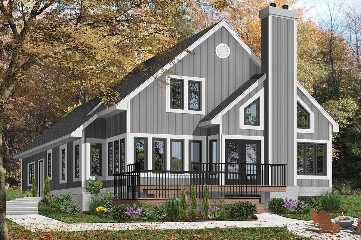 Plan 21581dr In 2021 Cottage Style House Plans Drummond House Plans House Plans