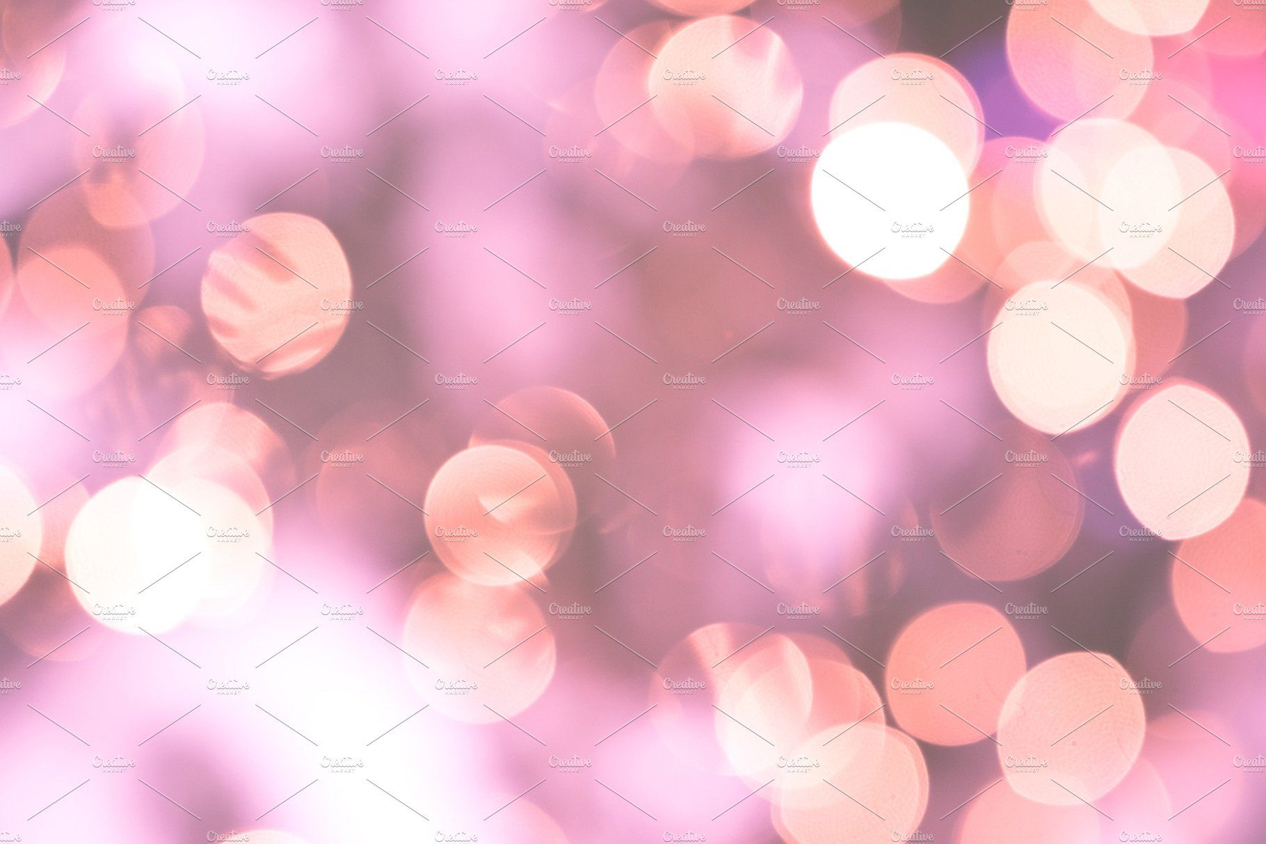 Bokeh Lights Glamour Pink Background By Lum3n On Creativemarket Pink Background Pink Christmas Background Bokeh Lights