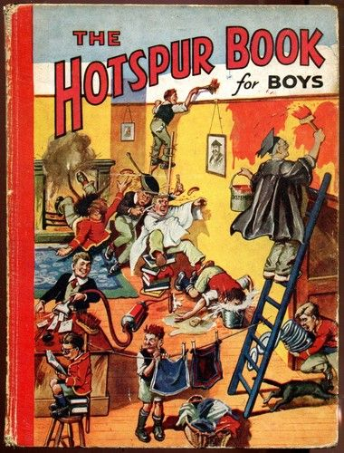 The Hotspur Book for Boys - DC Thomson 1941 | eBay