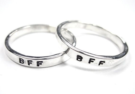 Set Of Bff Rings Best Friends