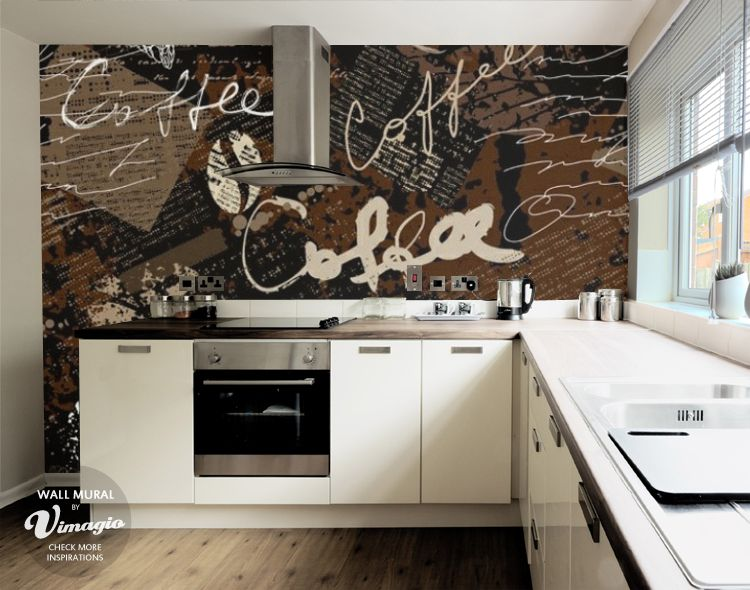 Wall Mural   Love Coffee   Inspirations | Vimagio