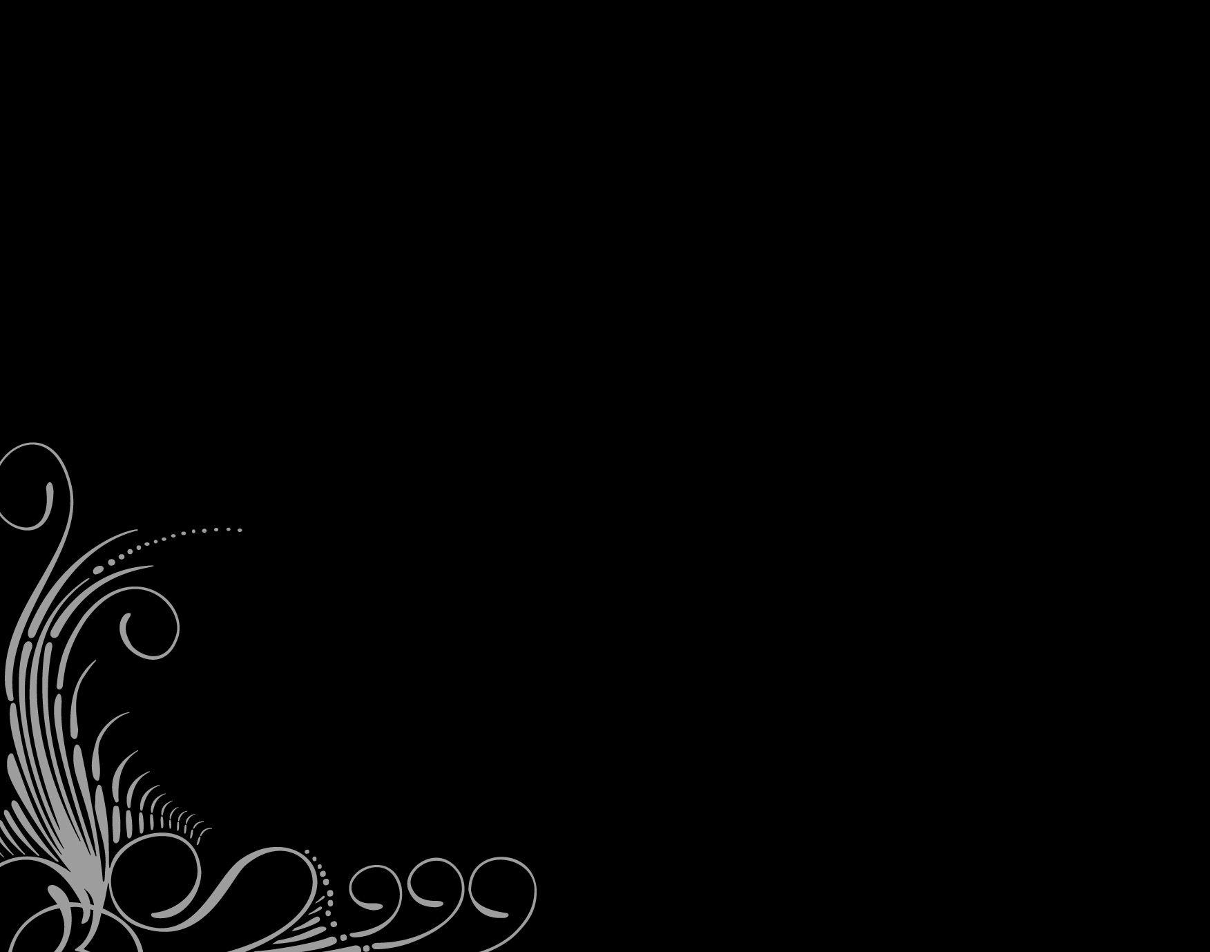 Elegant Black Border Ppt Backgrounds For Microsoft Powerpoint Cool Black Wallpaper Black Phone Wallpaper Background Ppt