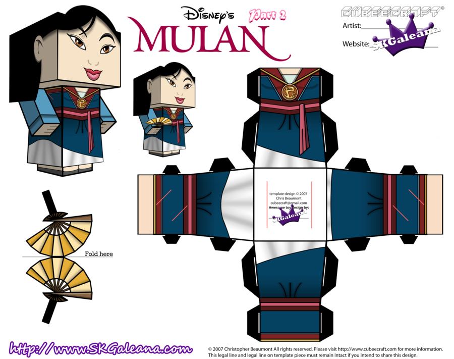 Cubeecraft Of Mulan In Her Saving China Dress Pt2 By