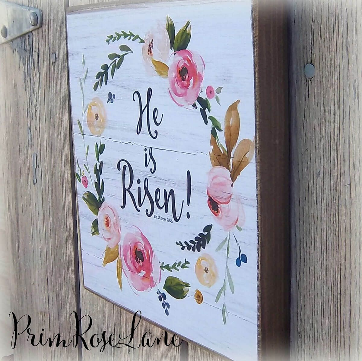 36 Painted Reclaimed Wood Ideas For Chic And Charming Home Decor Wood Signs Bible Verse Scripture Signs Easter Wall Art