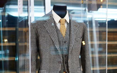 Edward, Duke of Windsor's houndstooth kilt-jacket