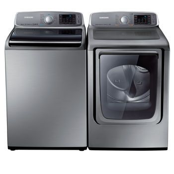 Costco Samsung Top Load King Size Capacity Washer And Eletric Dryer Set
