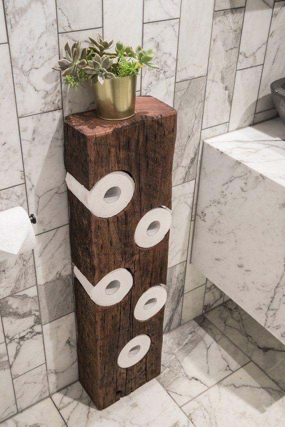Rustic Toilet Roll Holder Bathroom Decor Toilet Paper Holder Bathroom Org Cool Wohnen Rustic Toilet Paper Holders Diy Bathroom Decor Rustic Toilets