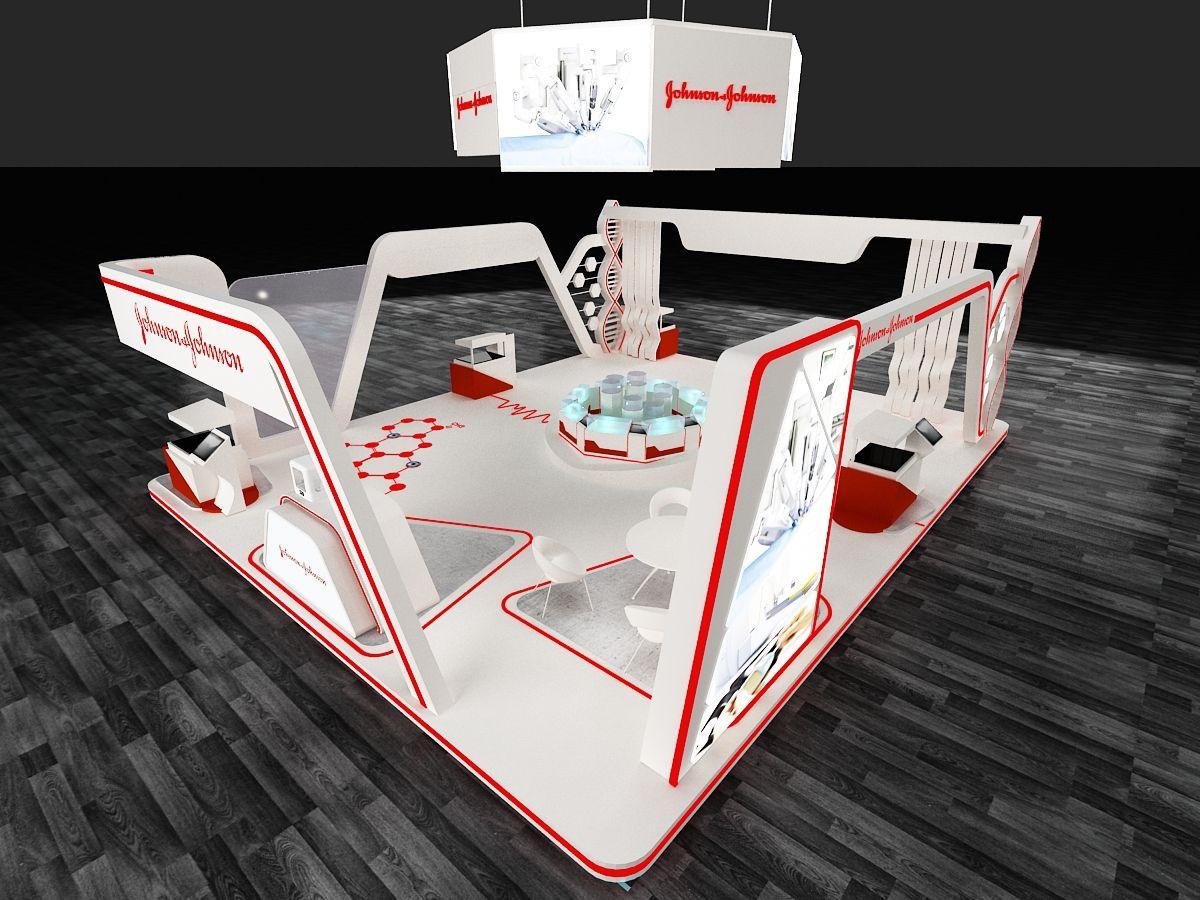 Johnson & Johnson Booth ( Dubai) on Behance di 2020 Desain