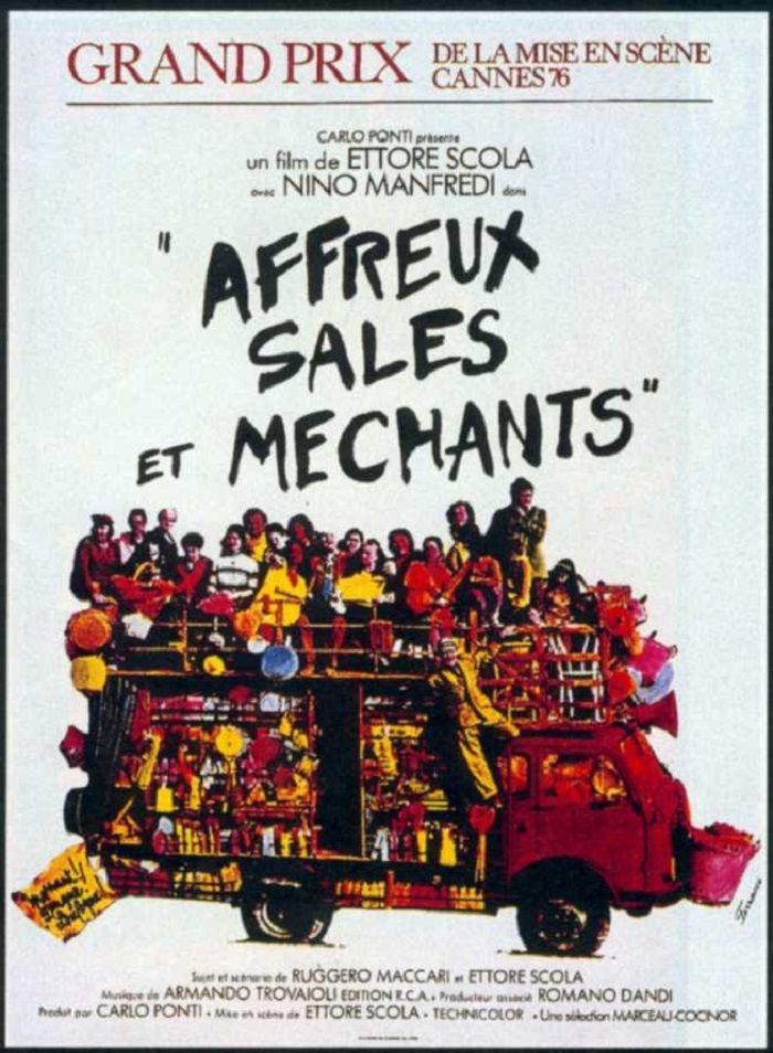 Affreux Sales Et Mechants Brutti Sporchi E Cattivi De Ettore Scola 1976 Dvd Filature Mechants Film Film Italien
