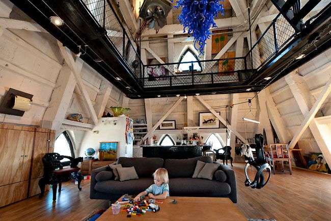 The Seattle Times: Life Inside The Smith Tower Penthouse Pyramid