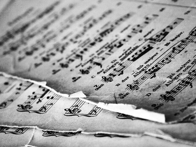 Inspiring Picture Music Vintage Violin Home Sheet
