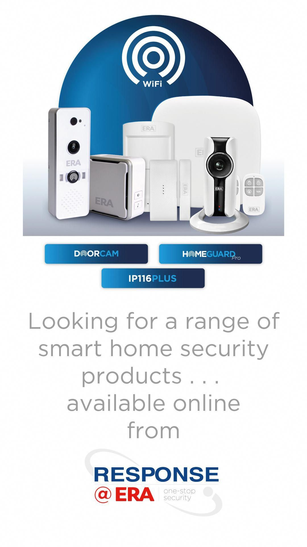 The Era Smarthome Range Means You Can Have A Fully Connected Smart Home Through The Era Rang In 2020 Home Security Systems Home Security Wireless Home Security Systems