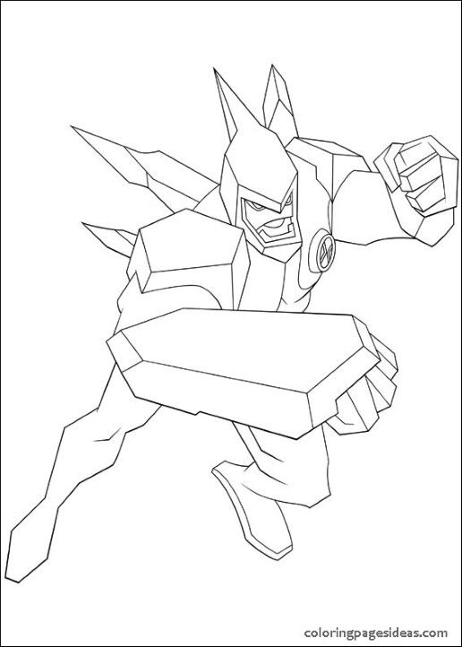 Ben 10 Coloring Pages Printable | Coloring pages for kids ...