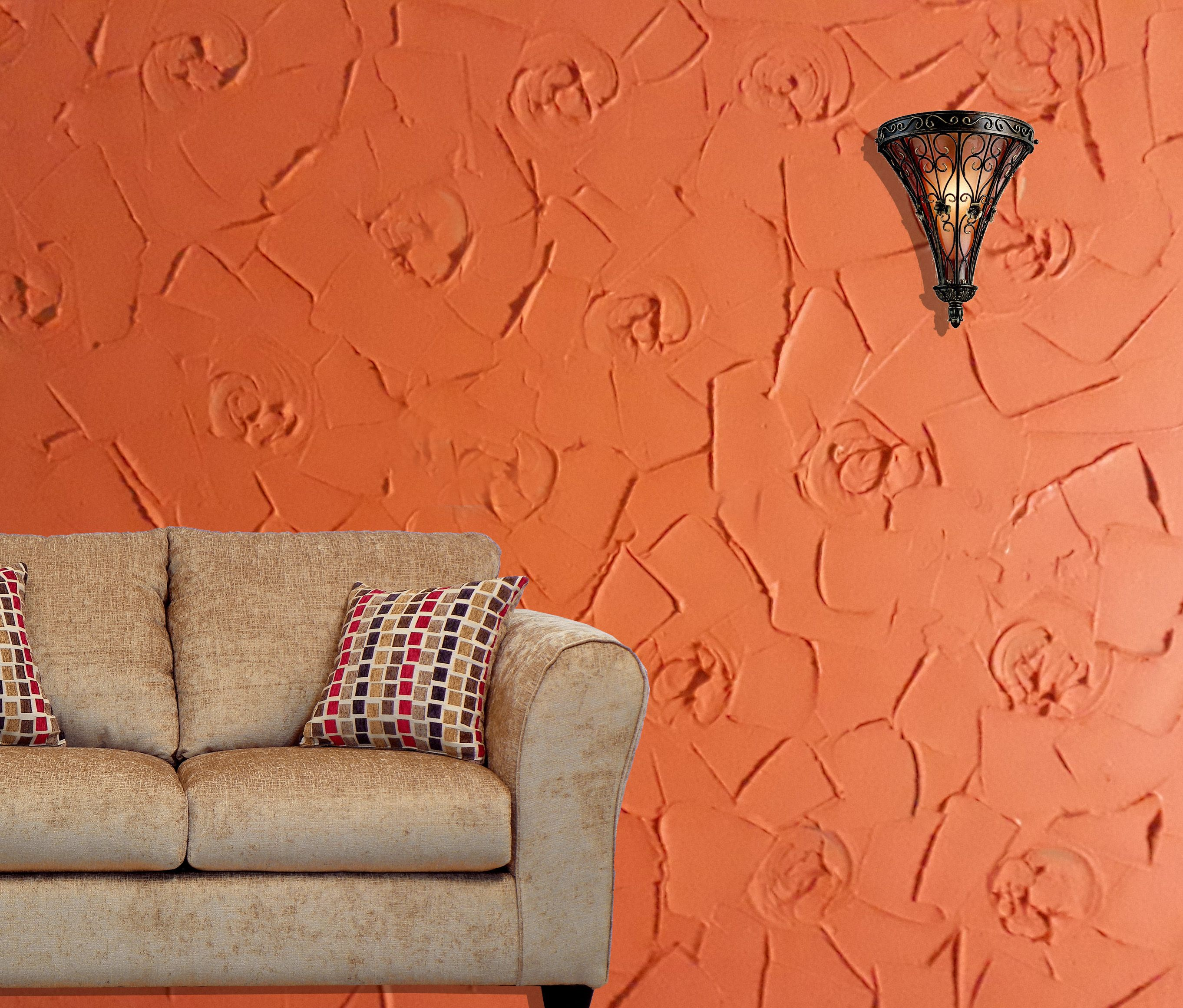 Decorative Texture On Dry Wall Wall Texture Design Wall Painting Living Room Wall Design