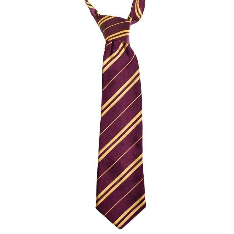 Hufflepuff Tie Harry Potter Costume Accessory One Size NEW