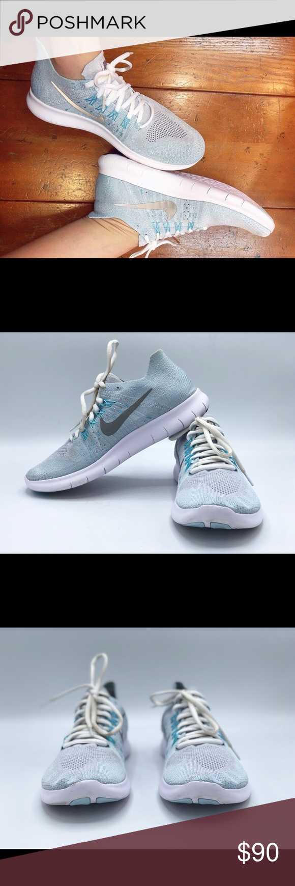 63f093f1656f0 Nike Women s Free RN Flyknit 2017 Shoes These are in very good condition  Nike Women s Free