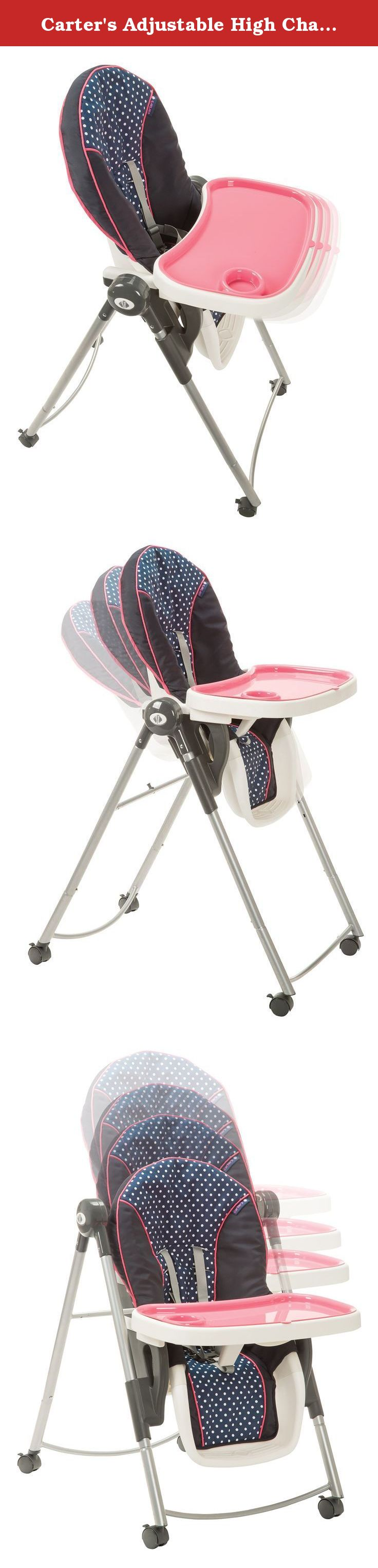 Carter s Adjustable High Chair Cute as a Hoot The Carter s