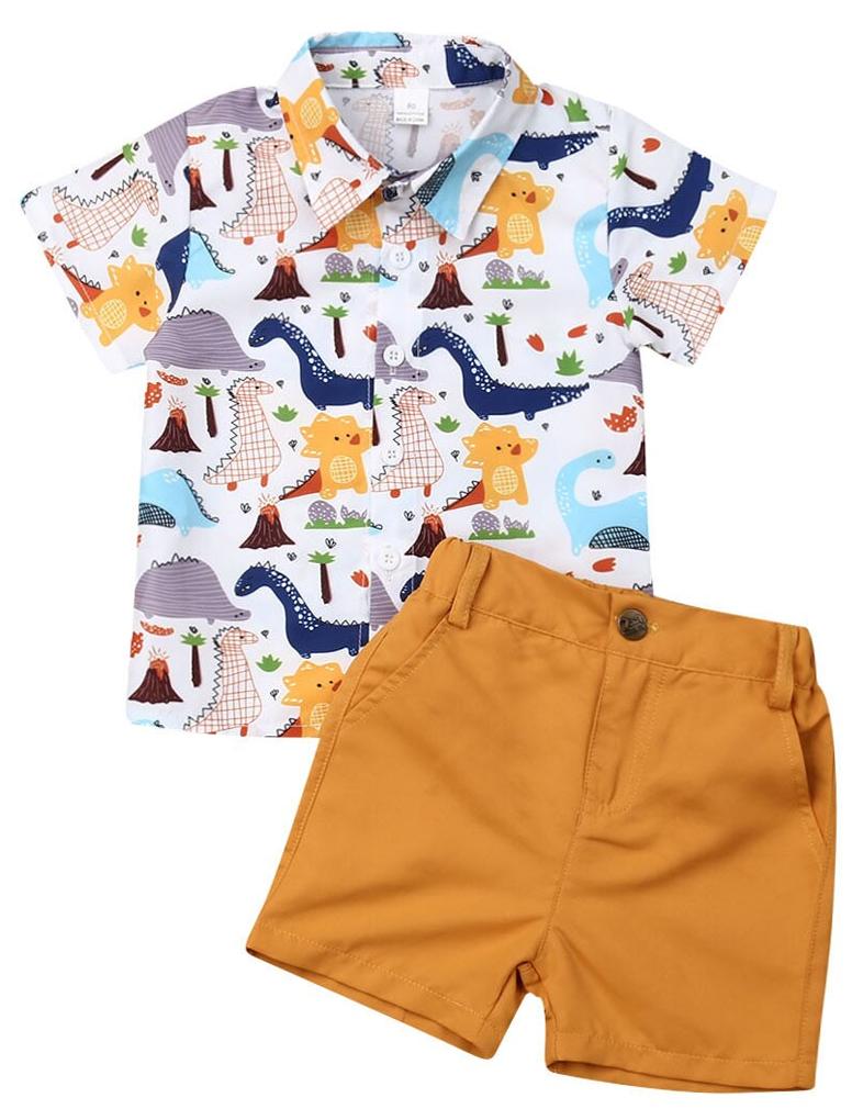 Kleinkinder Kinder Baby Junge Kleidung Jungen Outfits Shorts T-Shirt+Hose