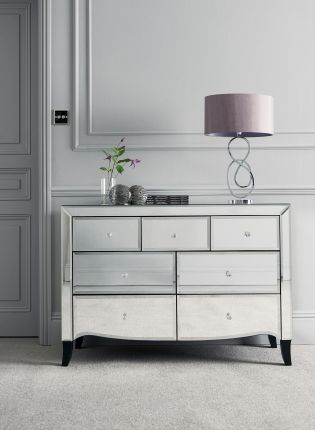 next mirrored furniture. Make Your Bedroom Appear Larger With Some Stunning Mirrored Furniture. This Gatsby Wide Chest From Next Furniture X