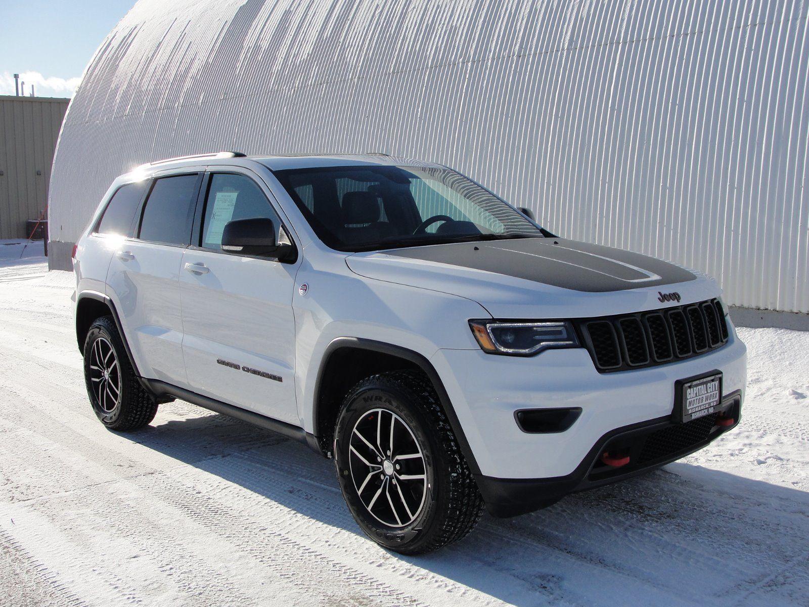 Used 2017 Jeep Grand Cherokee Trailhawk 4wd 2017 Jeep Grand